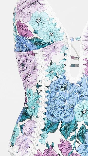 秋季新品上线 Poppy 钩针编织边缘连体泳衣