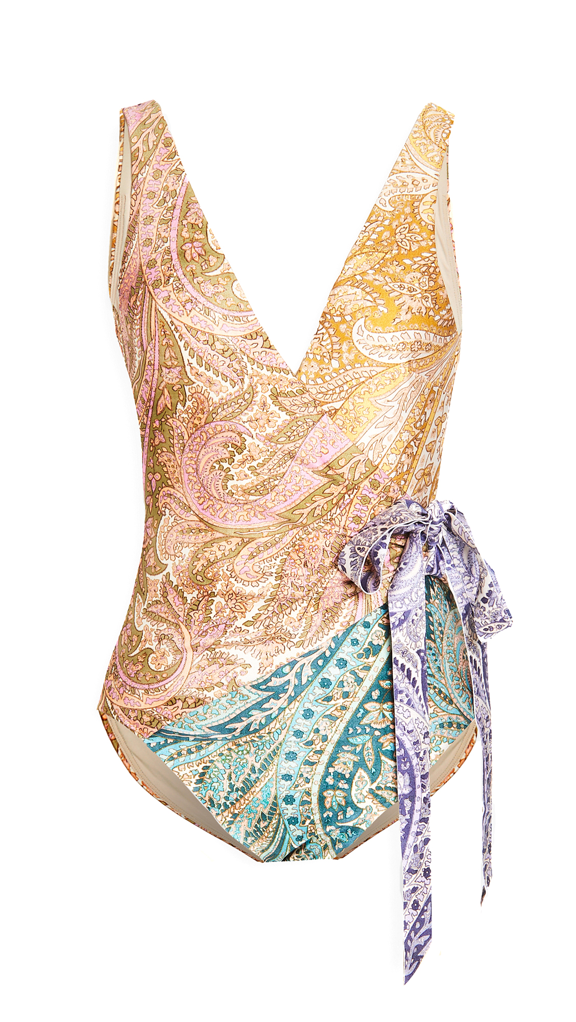 Zimmermann Brighton Wrap One Piece