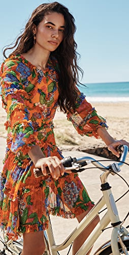 Zimmermann - Riders Frill Mini Dress