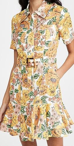 Zimmermann - Poppy Belted Mini Dress