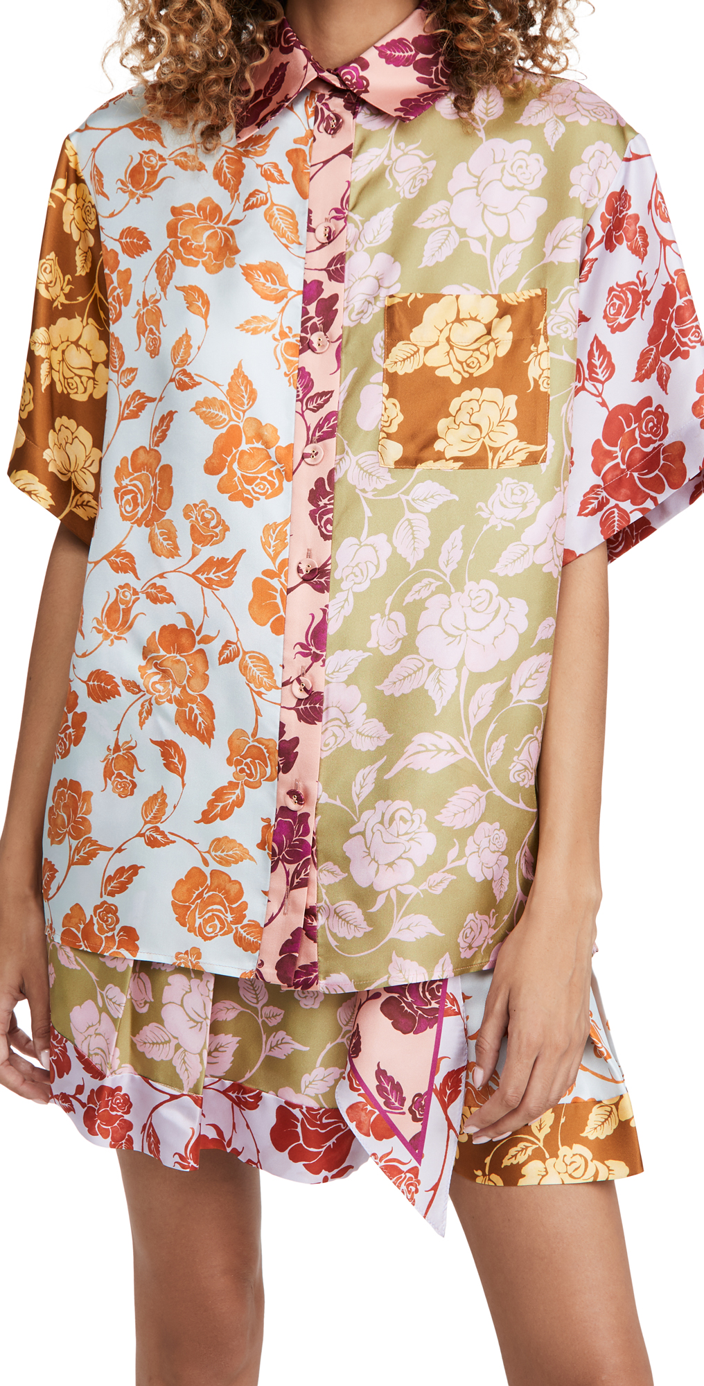 Zimmermann The Lovestruck Spliced Shirt