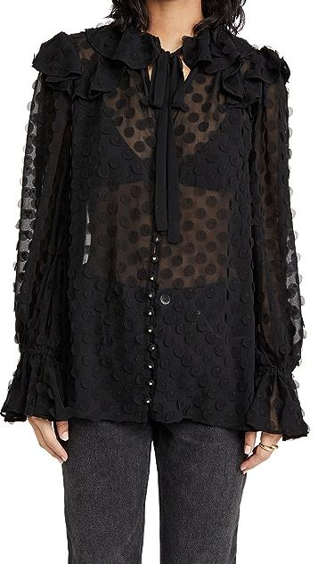 秋季新品上线 纹理女式衬衫