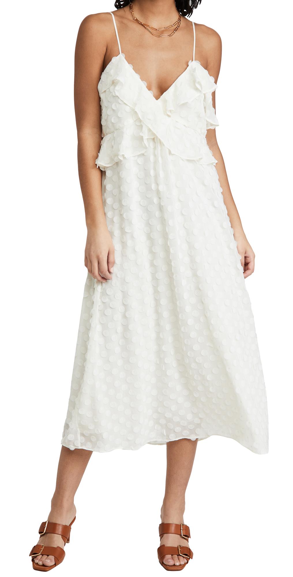 Zimmermann Textured Slip Dress