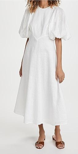 Zimmermann - Linen Day Midi Dress