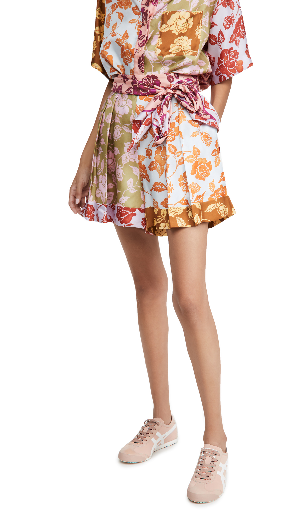 Zimmermann THE LOVESTRUCK SPLICED SHORTS