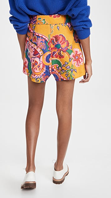Zimmermann The Lovestruck Shorts