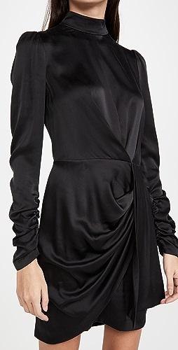 Zimmermann - 真丝垂褶连衣裙