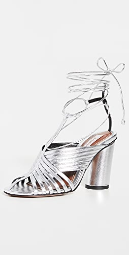 Zimmermann - Strappy Angled Heel Sandals
