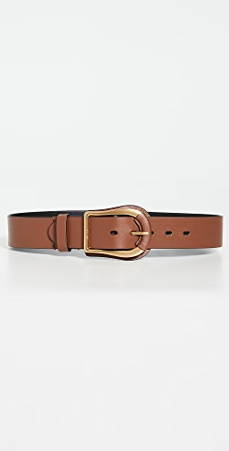 Zimmermann - 皮宽版腰带
