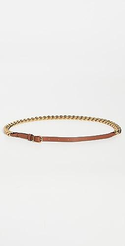Zimmermann - Chain Leather Belt