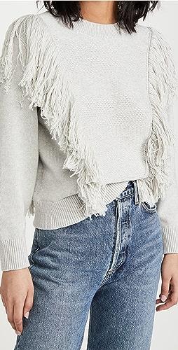 Zimmermann - Botanica Fringe Sweater