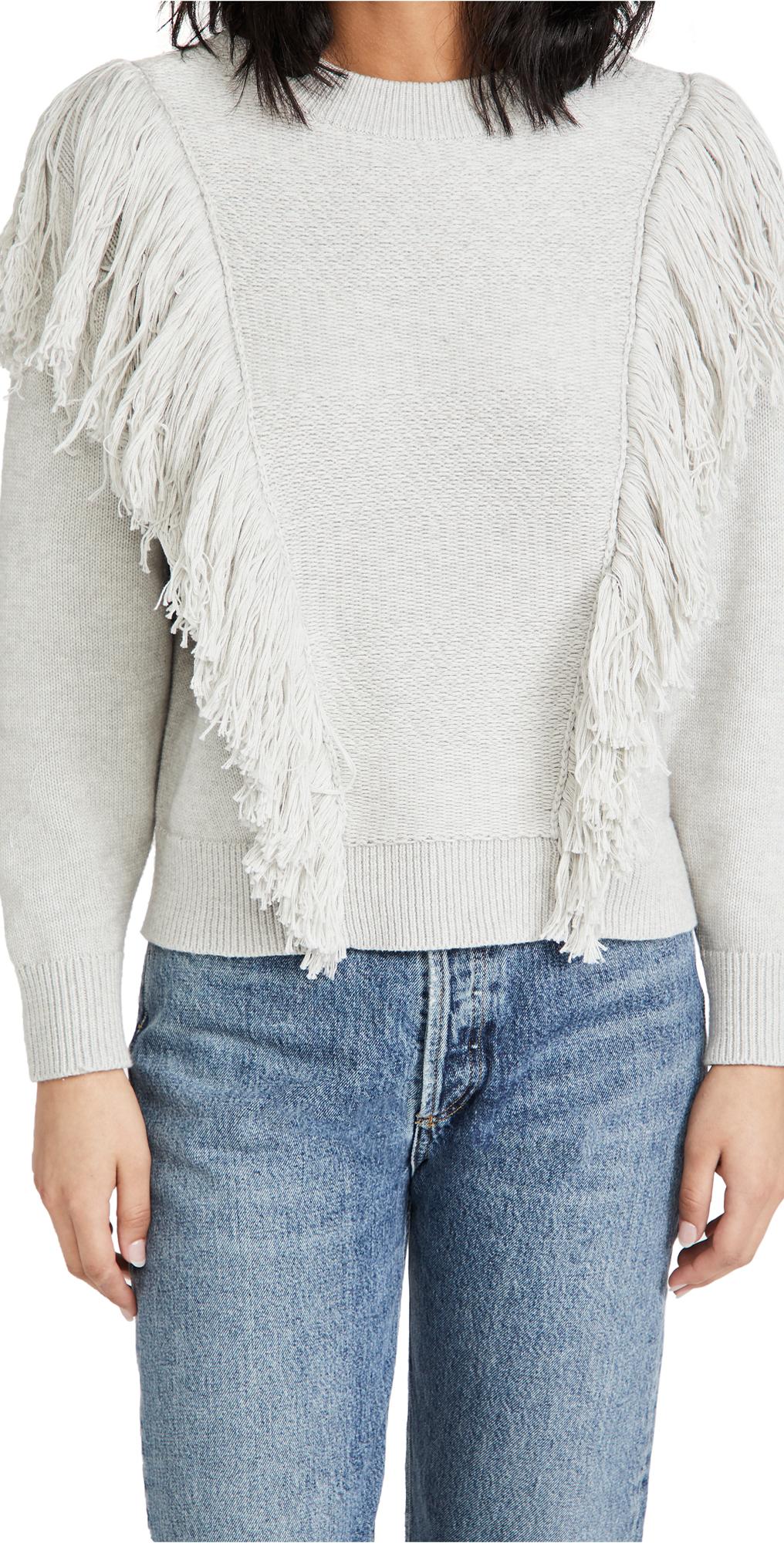 Zimmermann Botanica Fringe Sweater