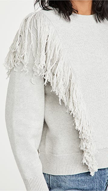 Zimmermann Botanica 流苏毛衣