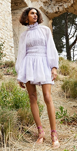 Zimmermann - Luminous Long Sleeve Mini Dress