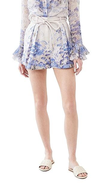 Zimmermann Luminous Safari 短裤