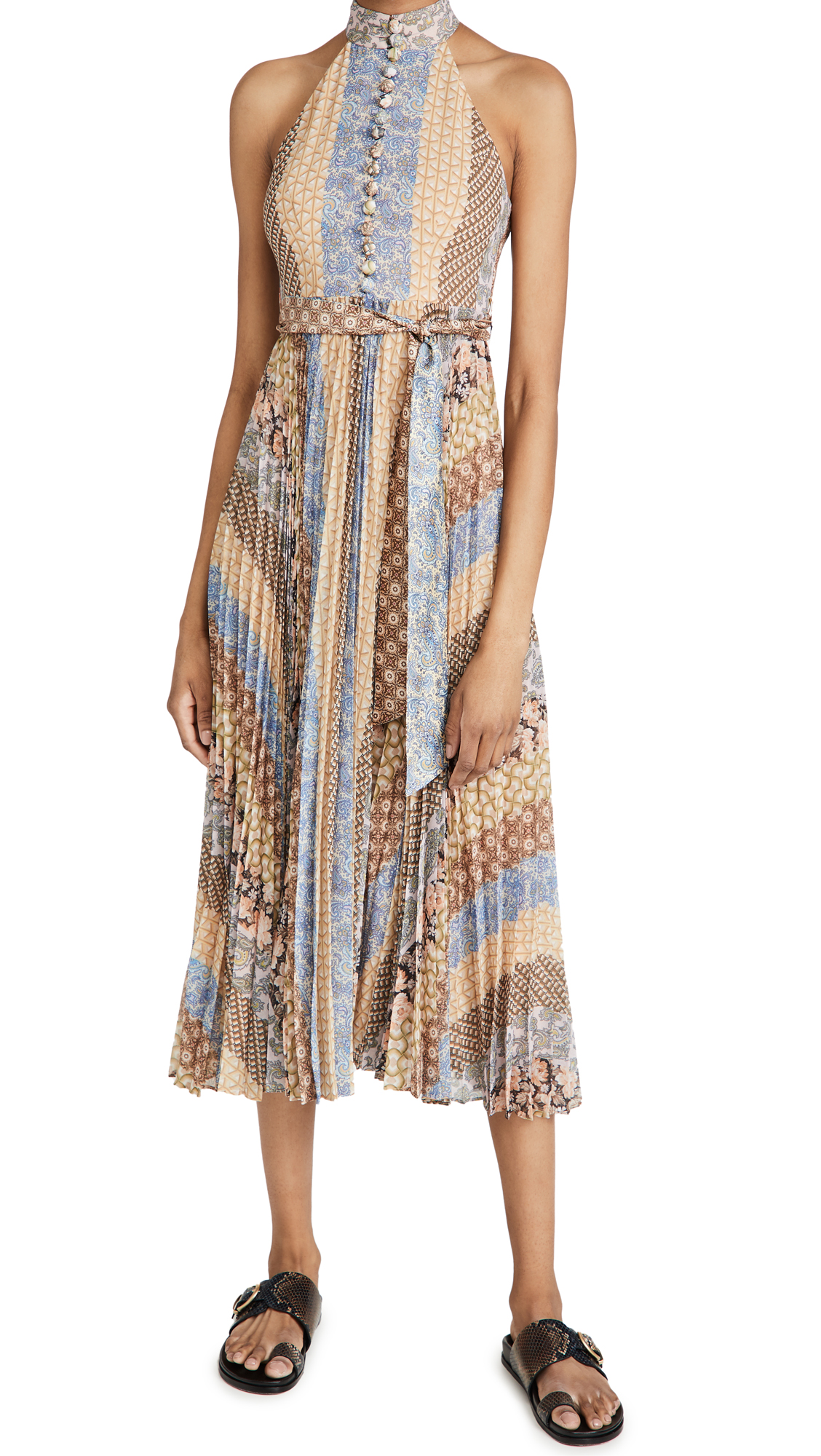 Zimmermann SUNRAY TIERED PICNIC DRESS