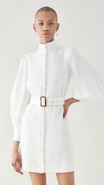 Zimmermann Luminous Mixed Ribbon Dress