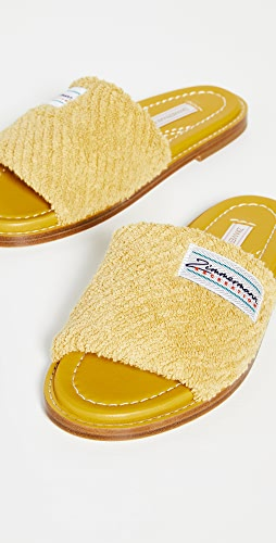 Zimmermann - Chubby Terry Towel Slides
