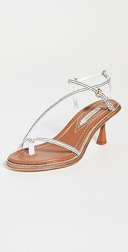 Zimmermann - Skinny Strap Heeled Sandals