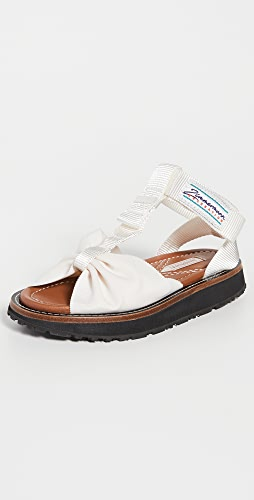 Zimmermann - Bow Front Sandals