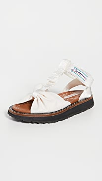 Zimmermann Bow Front Sandals