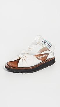 Zimmermann Bow Front Sandals