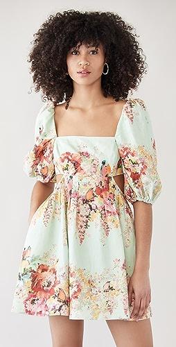 Zimmermann - Mae Cutout Mini Dress