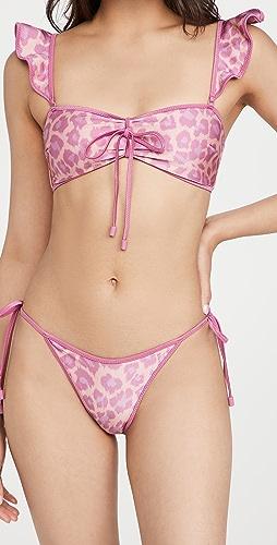 Zimmermann - Teddy Frill Bikini Set