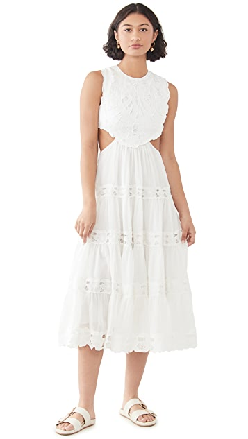 Zimmermann Cassia Yoke Dress