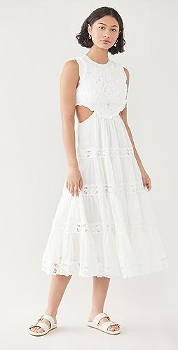 Zimmermann - Cassia Yoke Dress