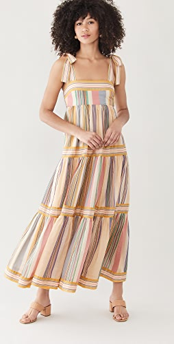 Zimmermann - Mae Tie Shoulder Dress