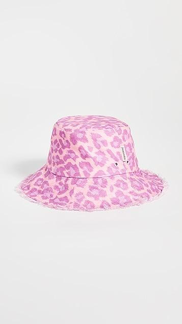 Zimmermann Reversible Frayed Bucket Hat