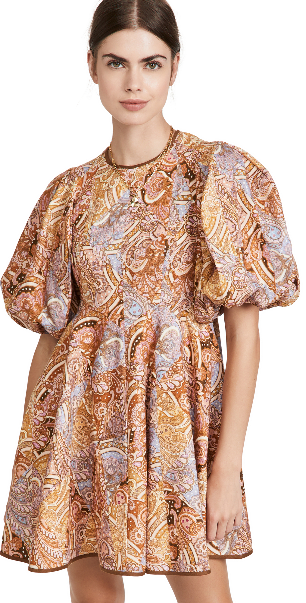Zimmermann Concert Paisley Day Mini Dress