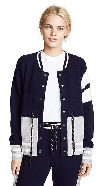 Zoe Jordan Wool Bomber Jacket