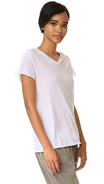 Zoe Karssen Loose Fit V Neck Tee