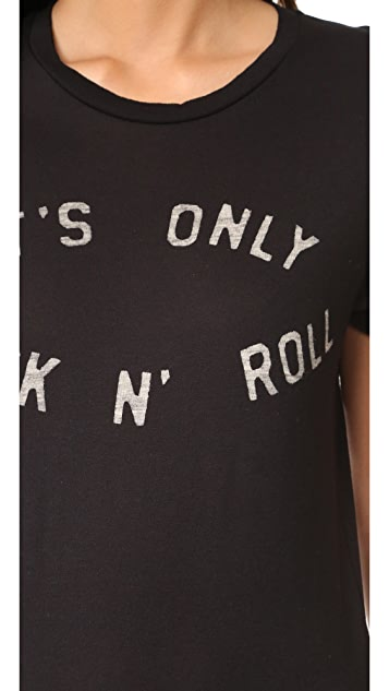 Zoe Karssen It's Only Rock N Roll Tee