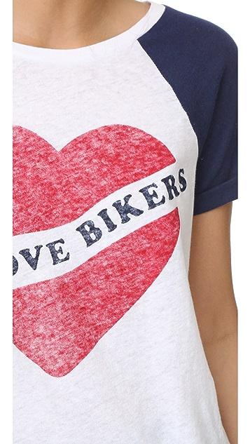 Zoe Karssen I Love Bikers Tee