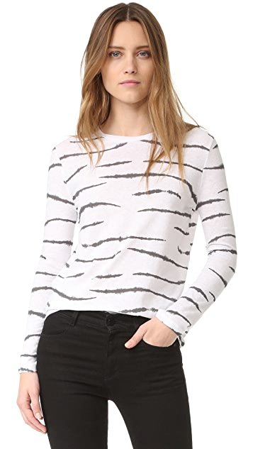 Zoe Karssen Tiger Long Sleeve Tee