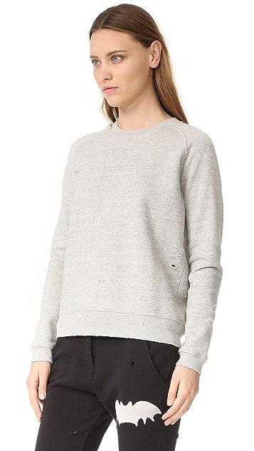 Zoe Karssen Distressed Sweatshirt