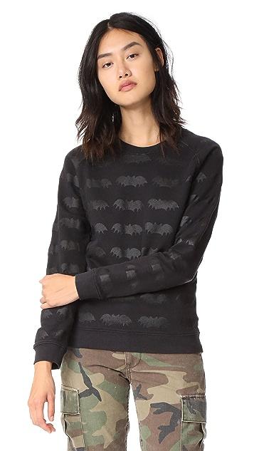 Zoe Karssen Bats All Over Sweatshirt