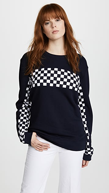 Zoe Karssen Checked Sweatshirt