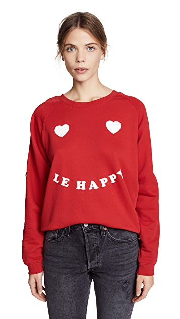Zoe Karssen Le Happy Sweatshirt