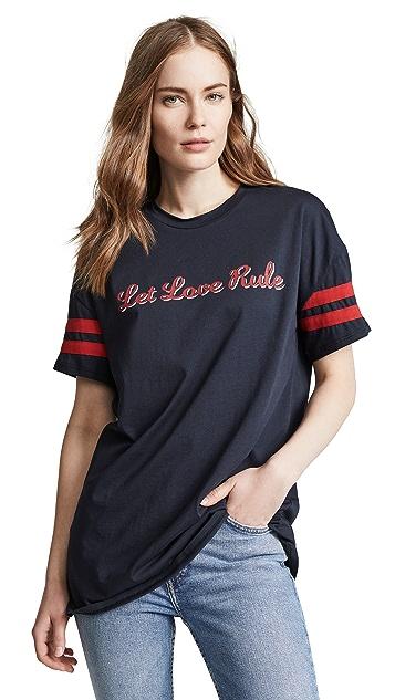 Zoe Karssen Let Love Rule Tee