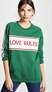 Zoe Karssen 男孩风版型嵌片运动衫