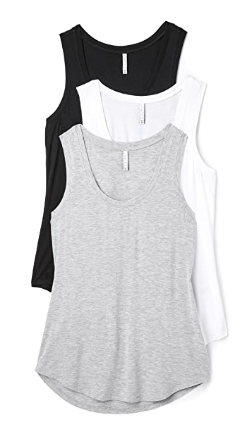 Z Supply Sleek Jersey Tank 3 Pack
