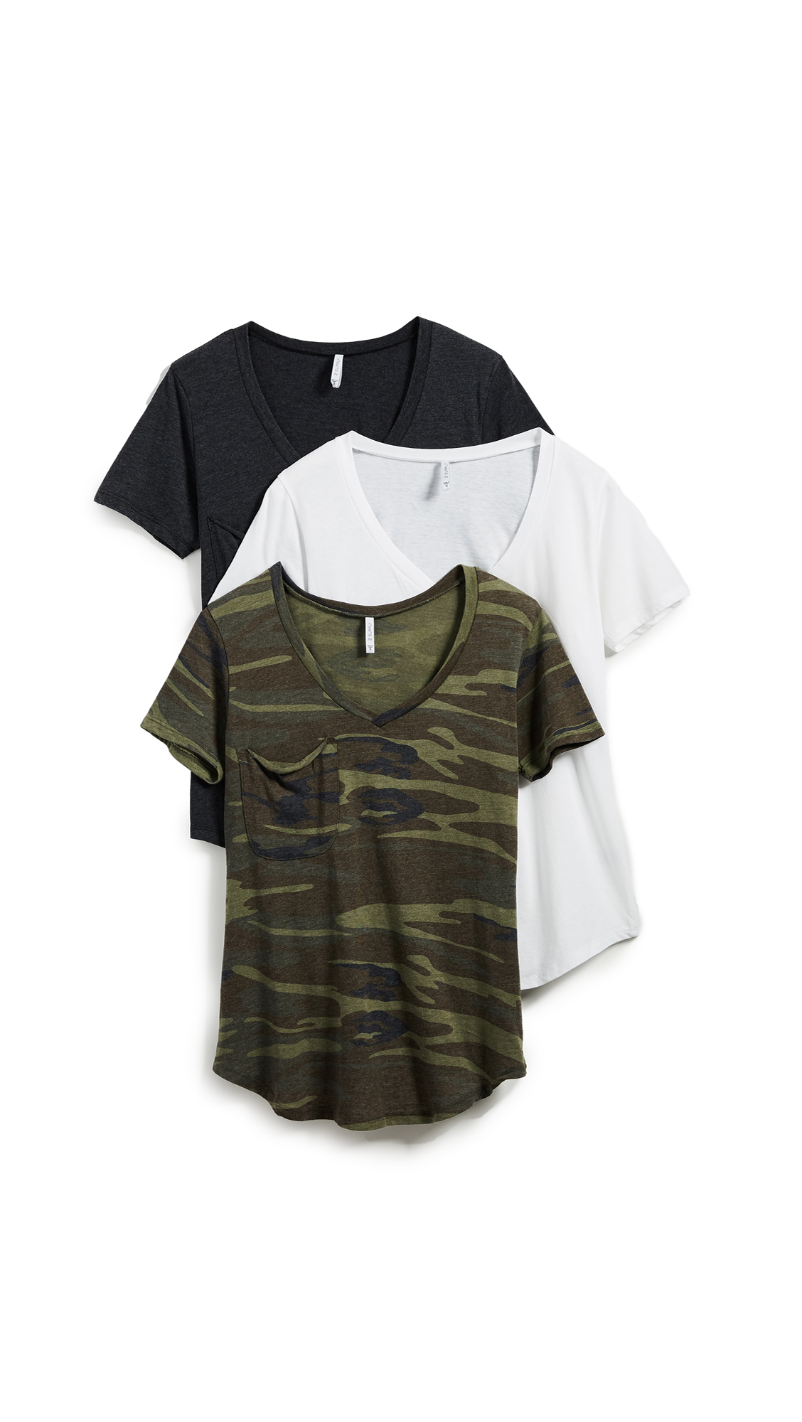 Z Supply Camo Tee 3 Pack