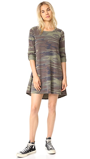 Z Supply The Camo Symphony Dress