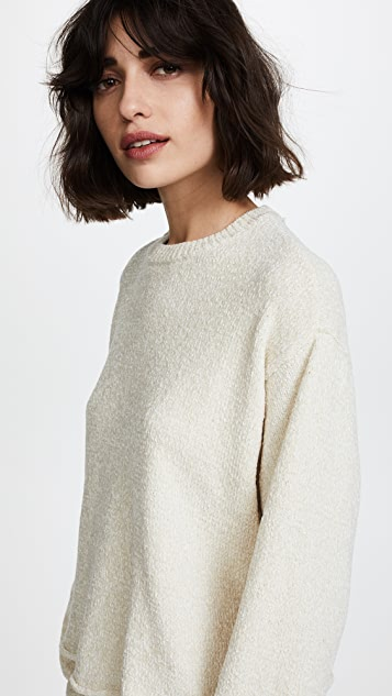 Z Supply The Chenille Cropped Pullover