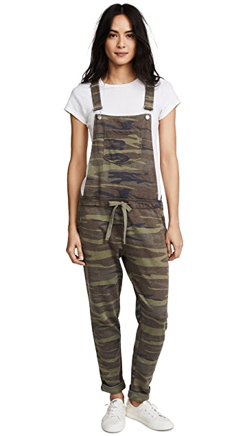 Z Supply The Camo Overalls