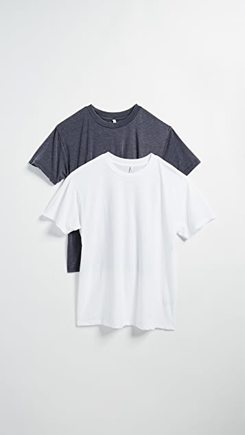 Z Supply Boyfriend Tee 2 Pack